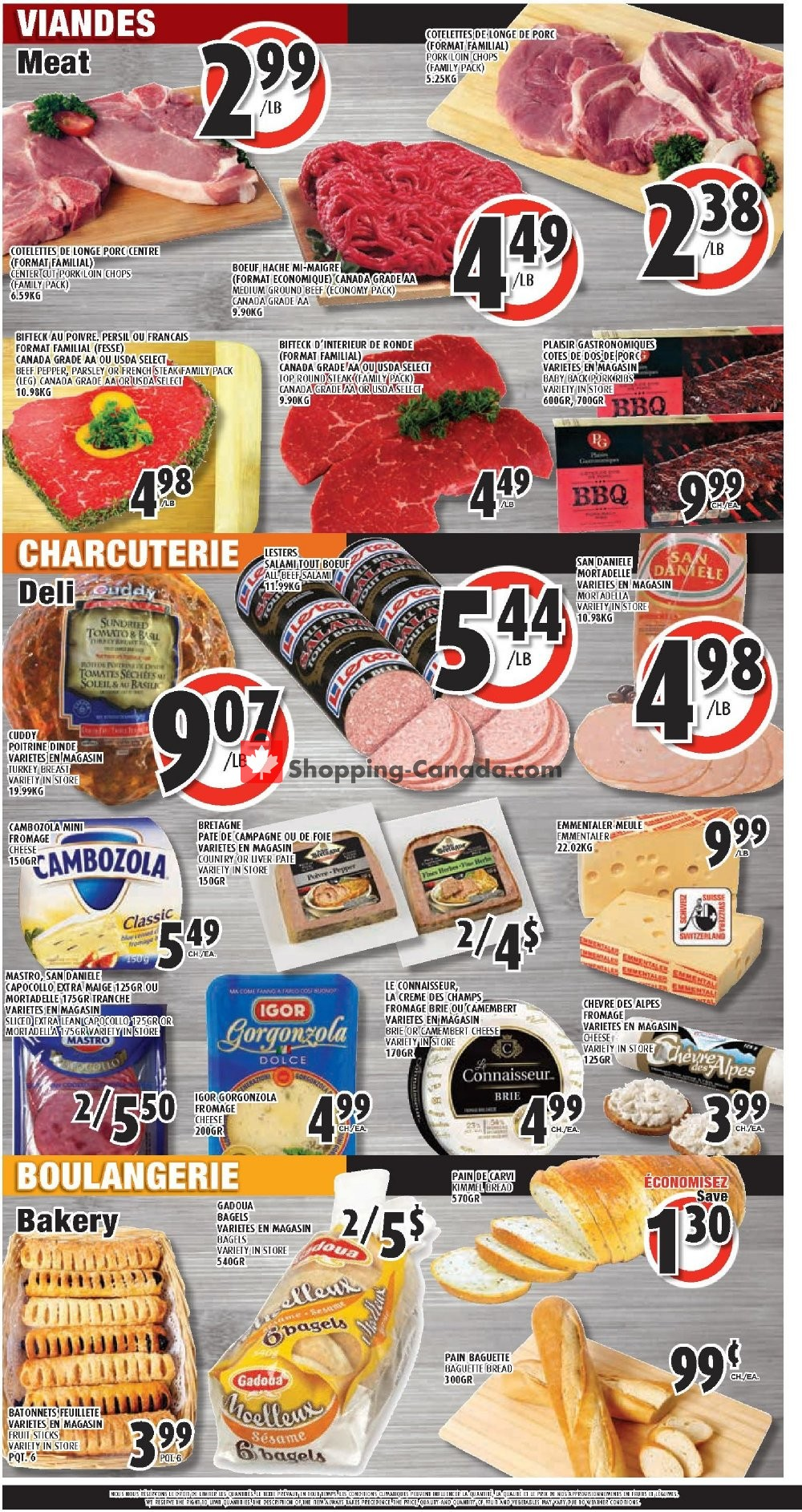 Flyer Le Marché Esposito Canada - from Thursday November 7, 2019 to Wednesday November 13, 2019