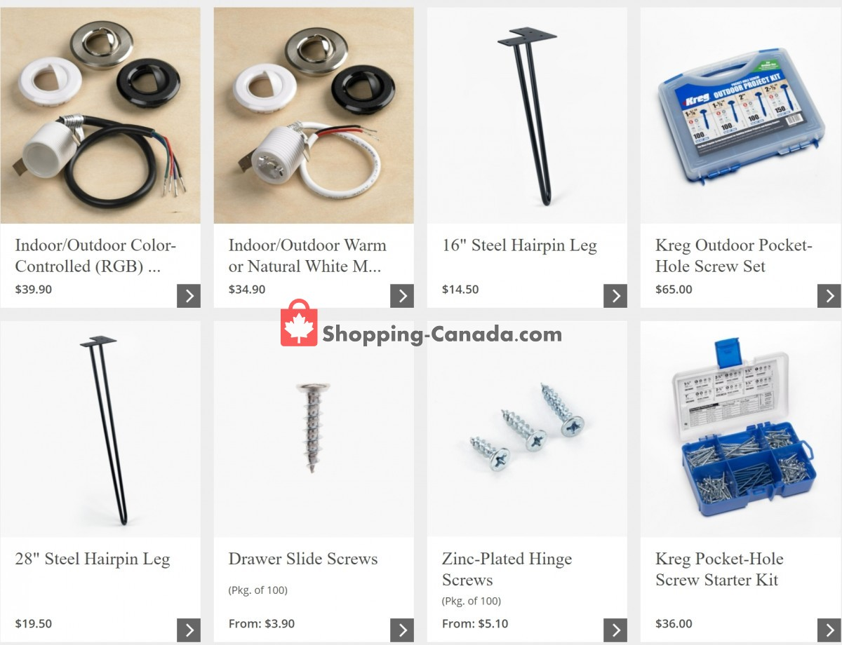 Flyer Lee Valley Tools Ltd Canada - from Monday May 3, 2021 to Sunday May 9, 2021