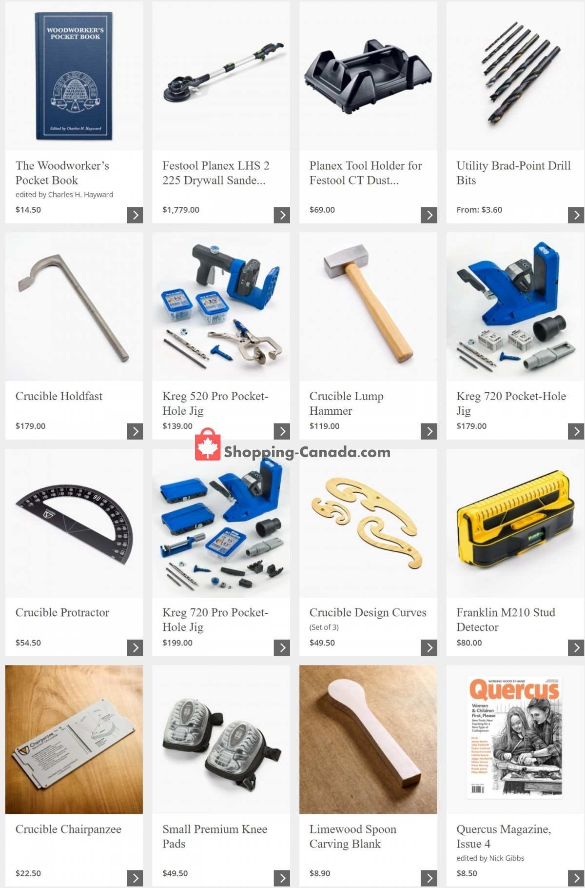 Flyer Lee Valley Tools Ltd Canada - from Wednesday March 31, 2021 to Tuesday April 6, 2021