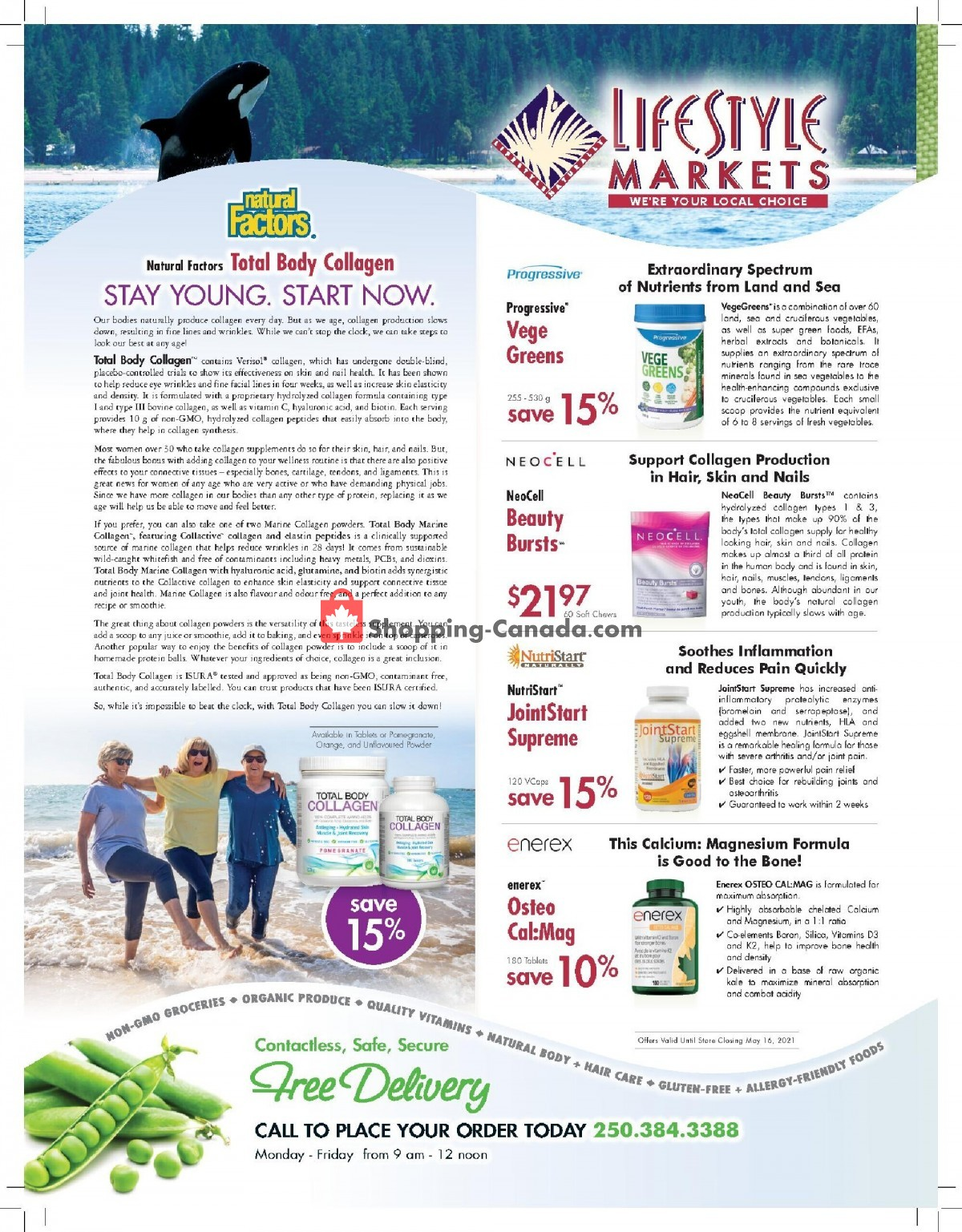 Flyer Lifestyle Markets Canada - from Thursday April 29, 2021 to Sunday May 16, 2021