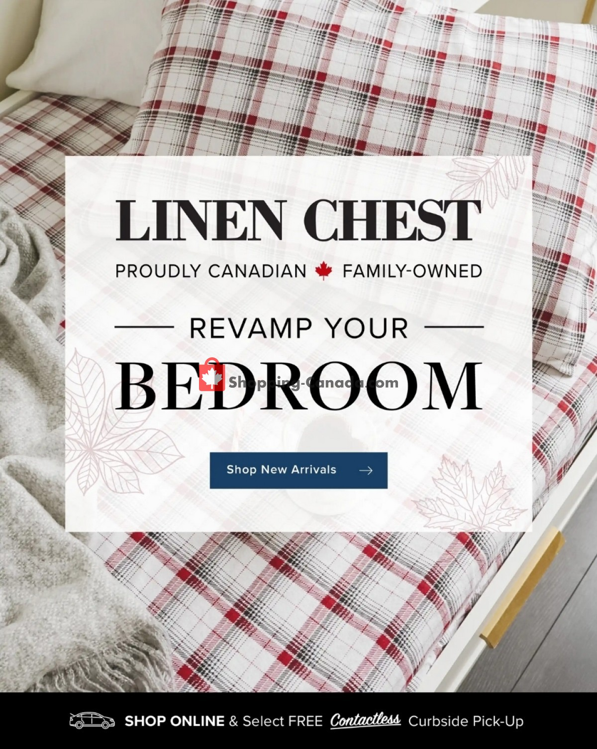 Flyer Linen Chest Canada - from Saturday October 9, 2021 to Sunday October 17, 2021