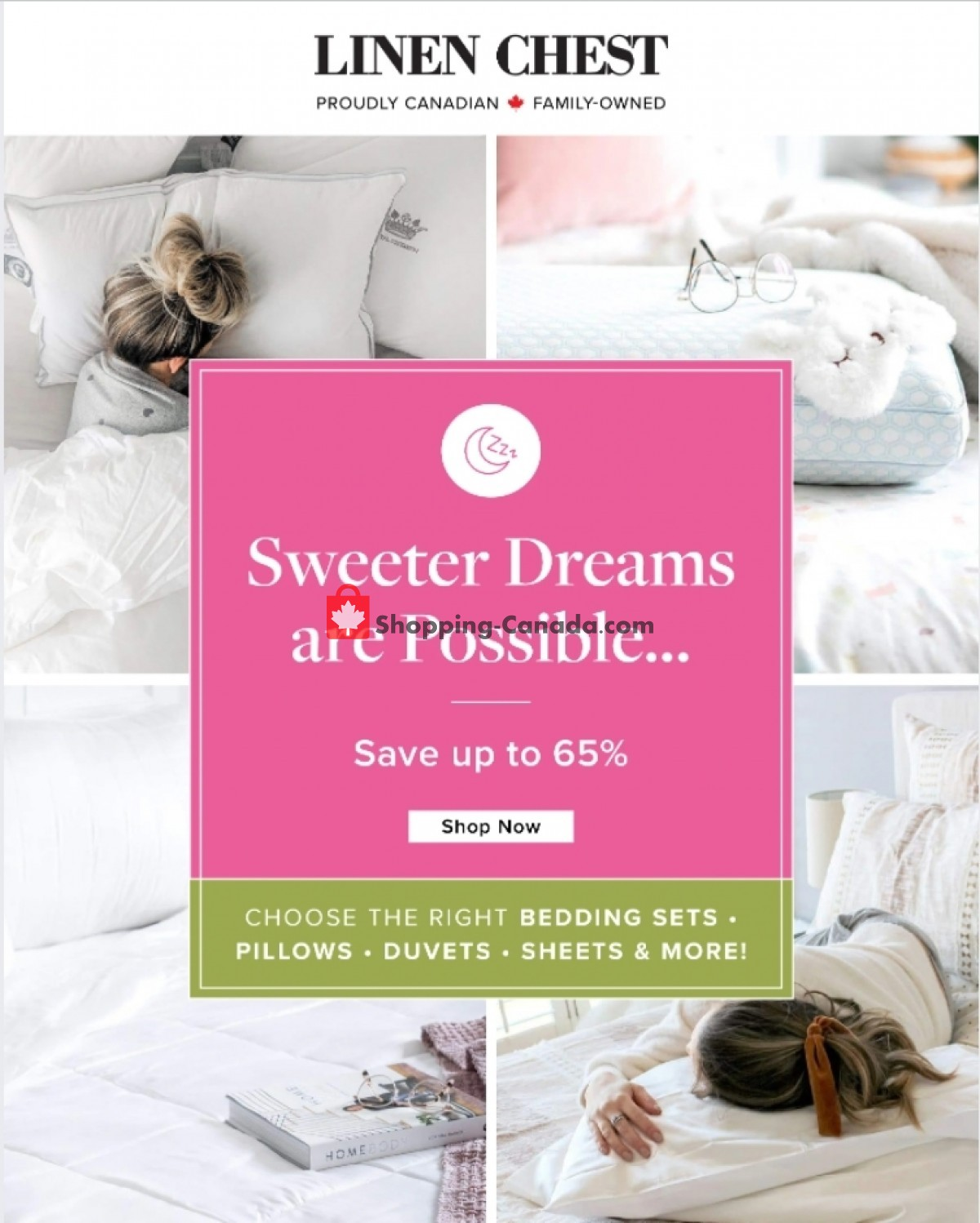 Flyer Linen Chest Canada - from Monday April 26, 2021 to Friday May 7, 2021