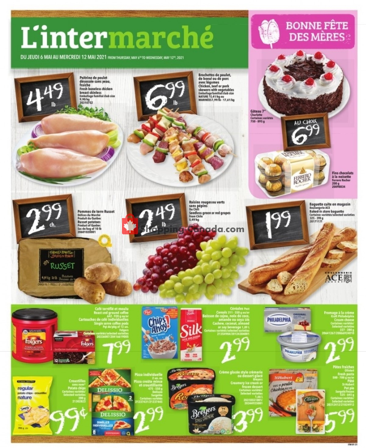 Flyer L'inter Marché Canada - from Thursday May 6, 2021 to Wednesday May 12, 2021