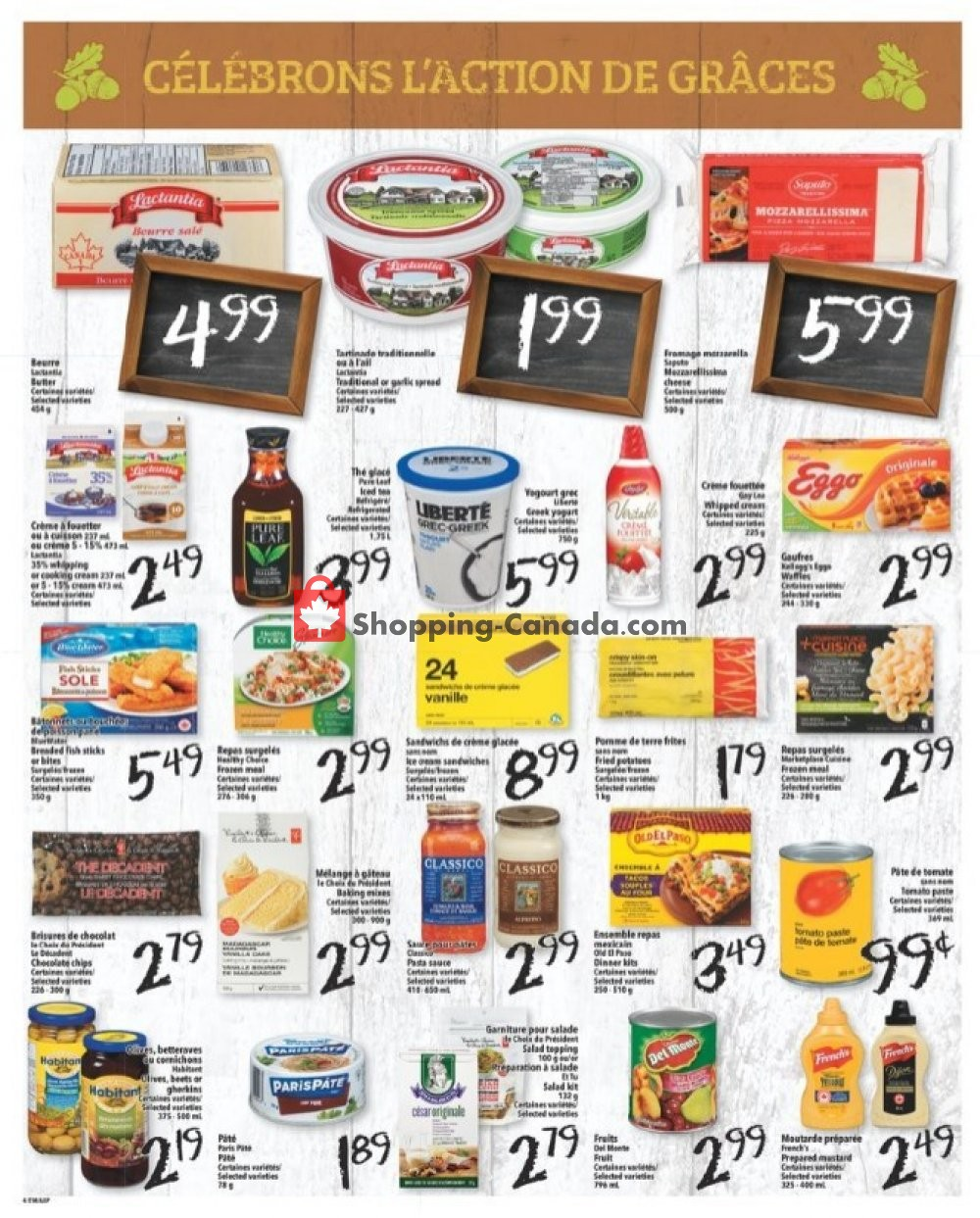 Flyer L'inter Marché Canada - from Thursday October 10, 2019 to Wednesday October 16, 2019