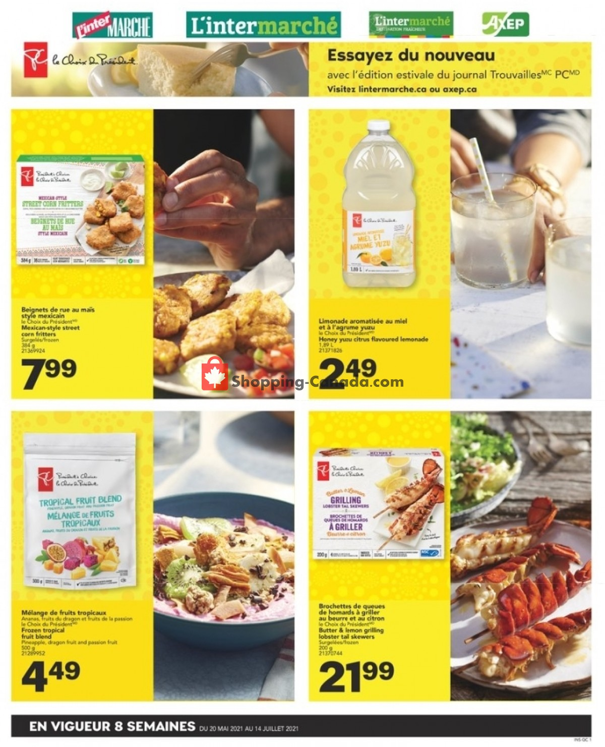 Flyer L'inter Marché Canada - from Thursday May 20, 2021 to Wednesday July 14, 2021
