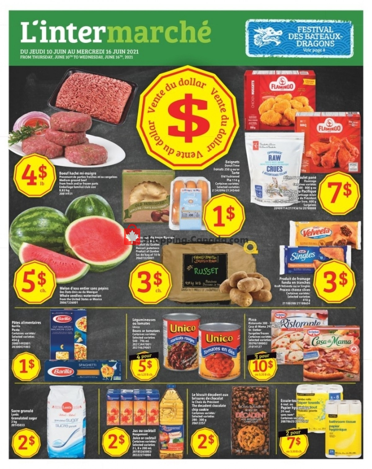 Flyer L'inter Marché Canada - from Thursday June 10, 2021 to Wednesday June 16, 2021