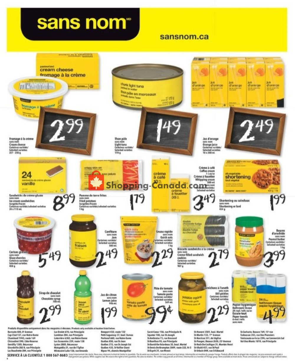 Flyer L'inter Marché Canada - from Thursday August 8, 2019 to Wednesday August 14, 2019