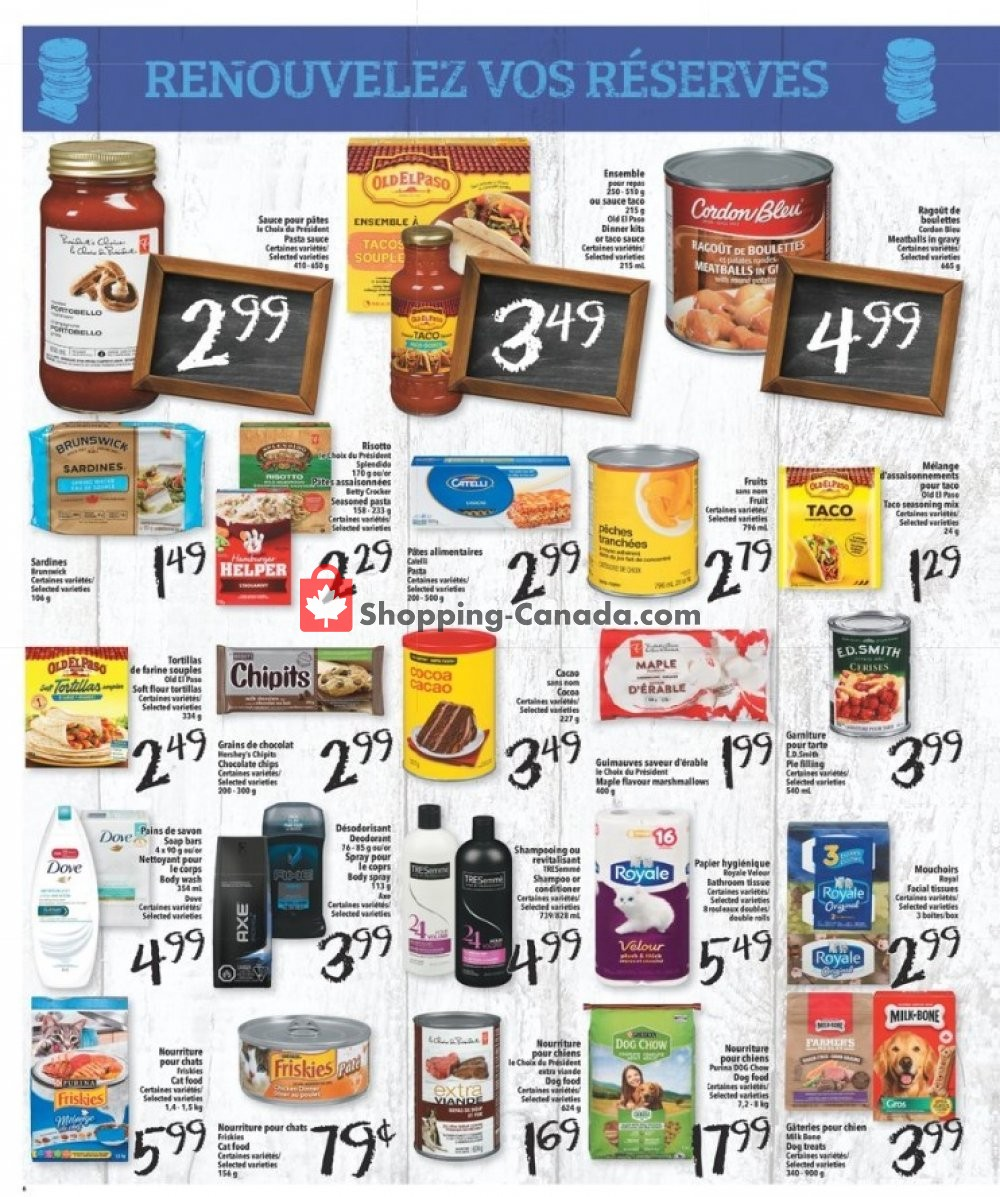 Flyer L'inter Marché Canada - from Thursday January 9, 2020 to Wednesday January 15, 2020