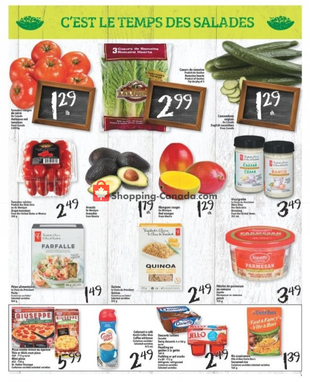 Flyer L'inter Marché Canada - from Thursday July 11, 2019 to Wednesday July 17, 2019