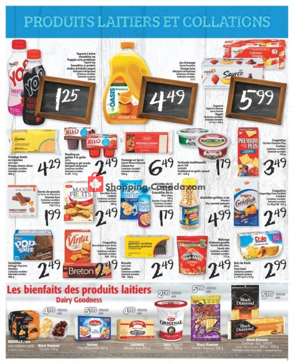 Flyer L'inter Marché Canada - from Thursday November 7, 2019 to Wednesday November 13, 2019
