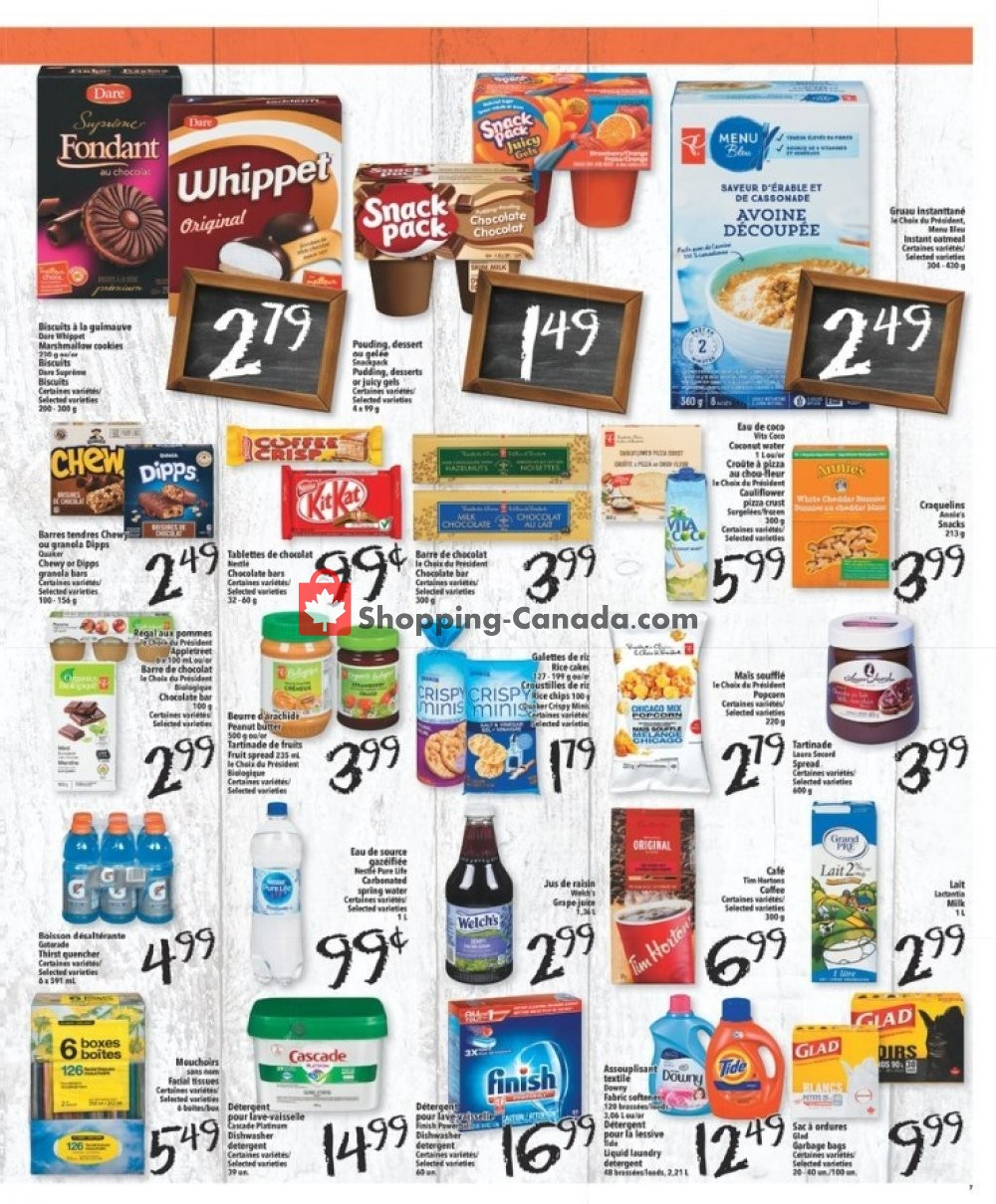 Flyer L'inter Marché Canada - from Thursday January 16, 2020 to Wednesday January 22, 2020
