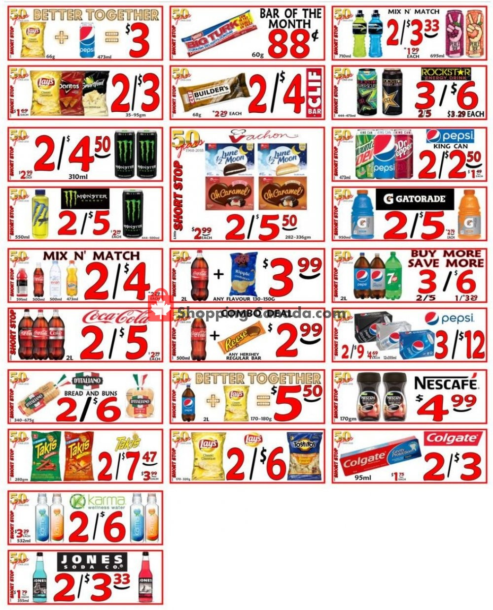 Flyer Little Short Stop Stores Canada - from Monday January 28, 2019 to Sunday February 3, 2019