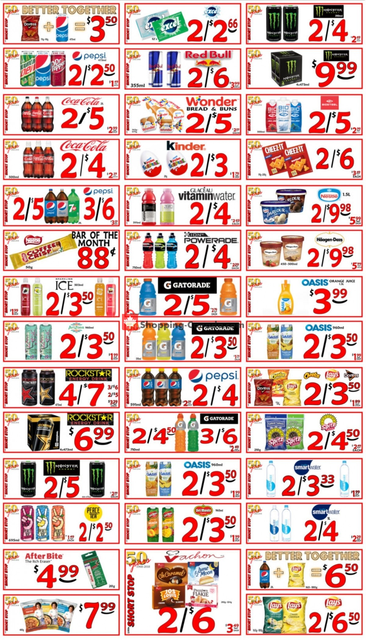 Flyer Little Short Stop Stores Canada - from Thursday May 6, 2021 to Wednesday May 12, 2021