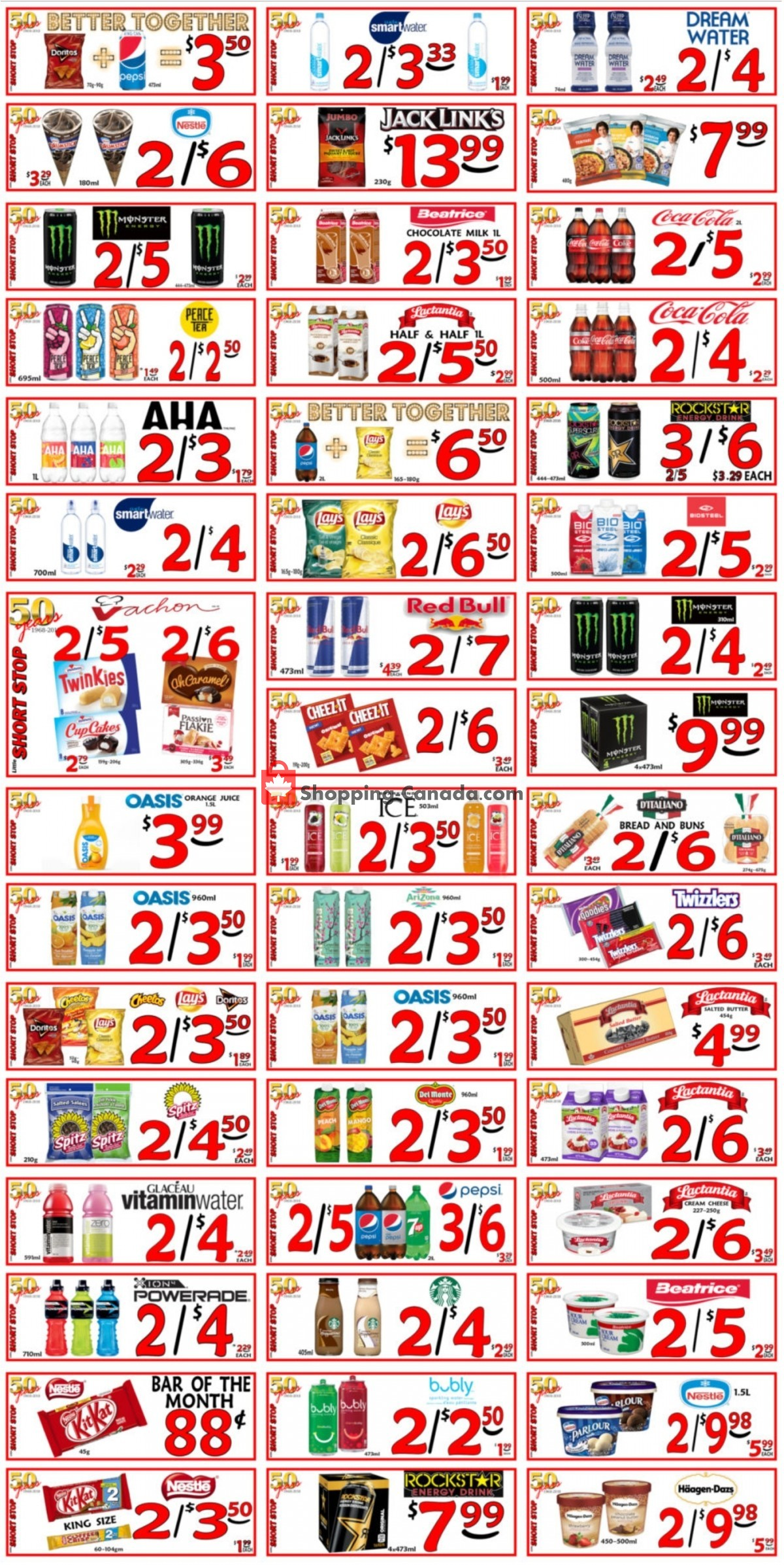 Flyer Little Short Stop Stores Canada - from Friday April 23, 2021 to Thursday April 29, 2021