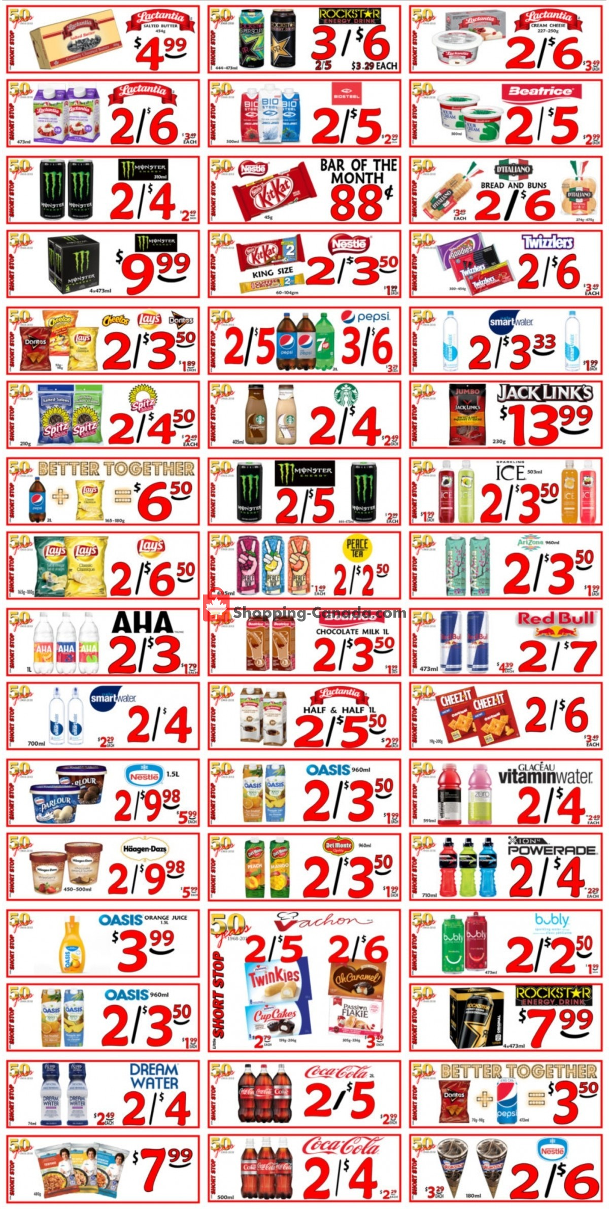 Flyer Little Short Stop Stores Canada - from Friday April 30, 2021 to Wednesday May 5, 2021
