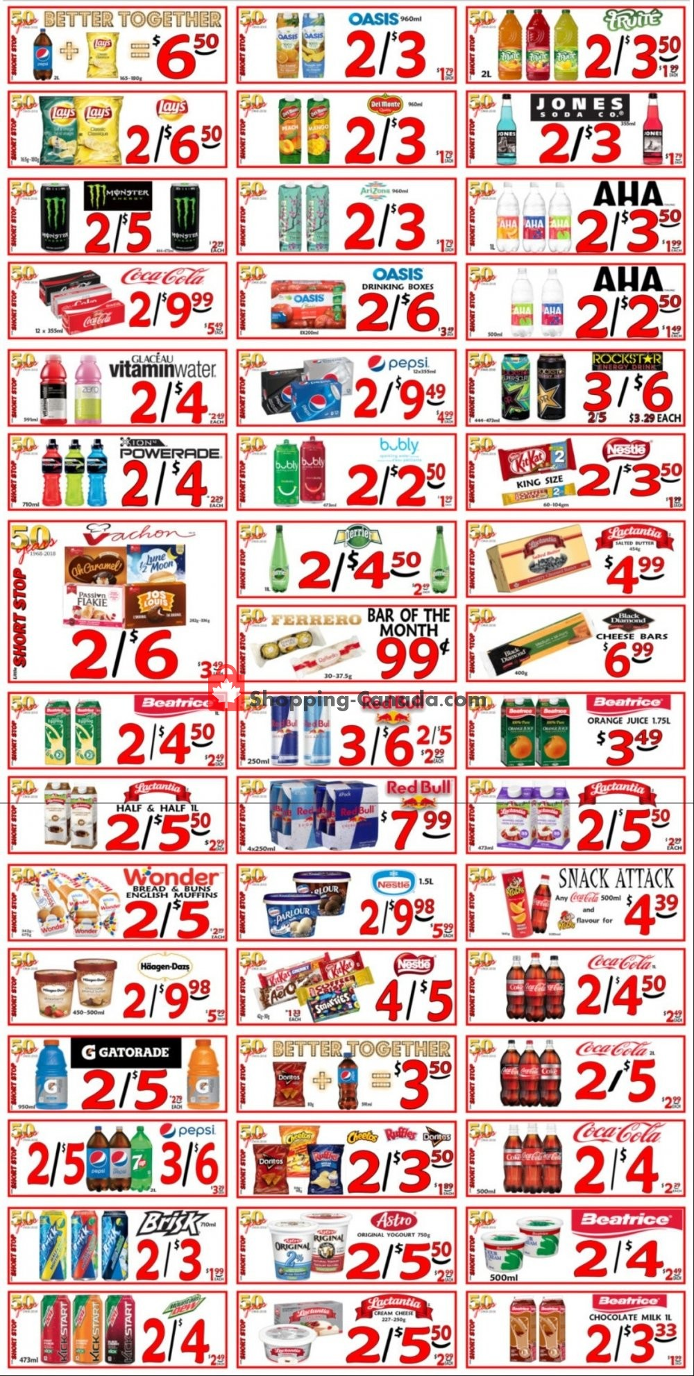 Flyer Little Short Stop Stores Canada - from Tuesday December 22, 2020 to Monday December 28, 2020