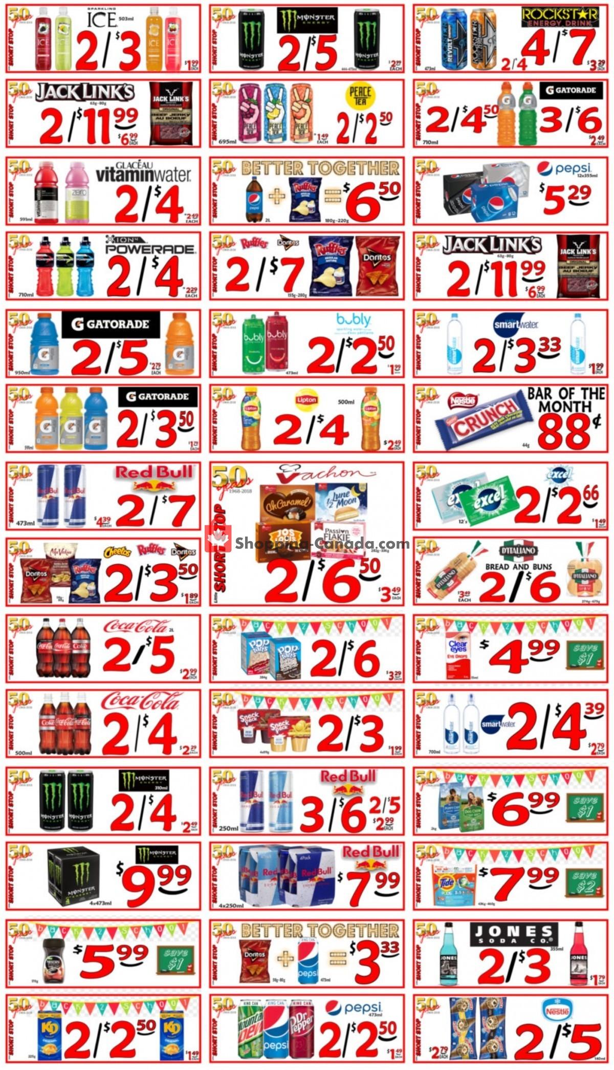Flyer Little Short Stop Stores Canada - from Thursday September 9, 2021 to Wednesday September 15, 2021