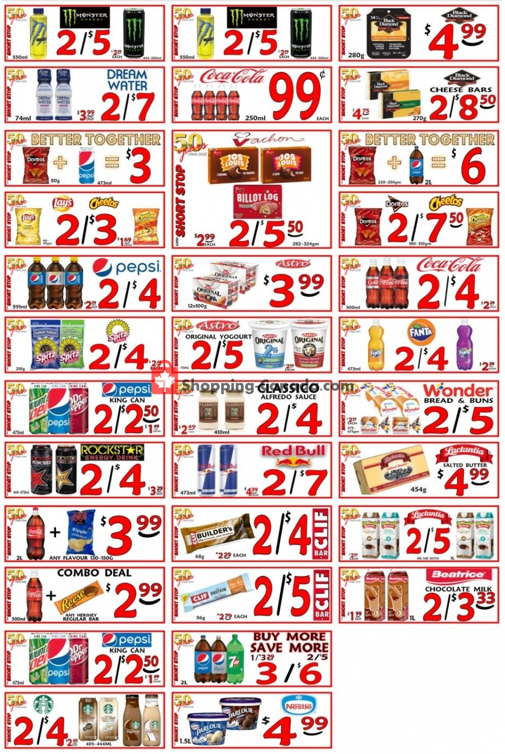 Flyer Little Short Stop Stores Canada - from Friday April 12, 2019 to Thursday April 18, 2019