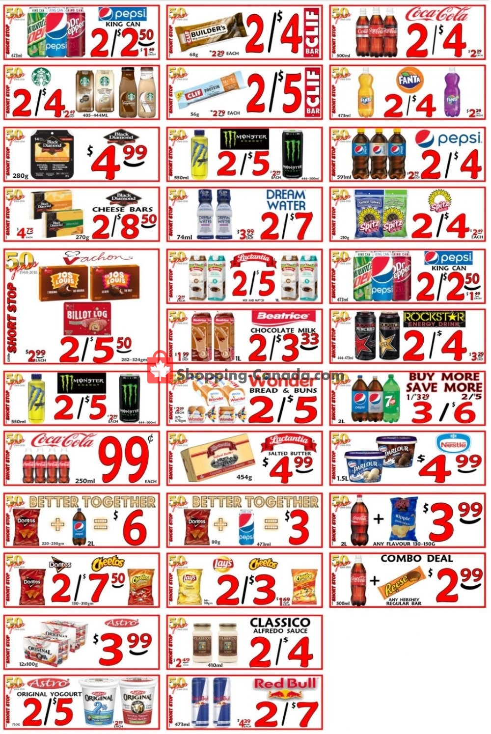 Flyer Little Short Stop Stores Canada - from Saturday April 13, 2019 to Friday April 19, 2019