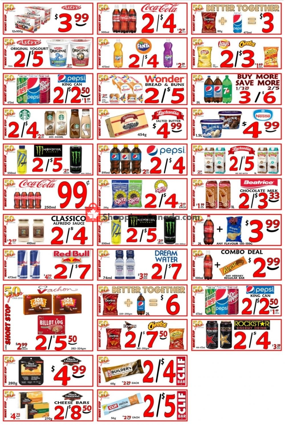 Flyer Little Short Stop Stores Canada - from Sunday April 14, 2019 to Saturday April 20, 2019