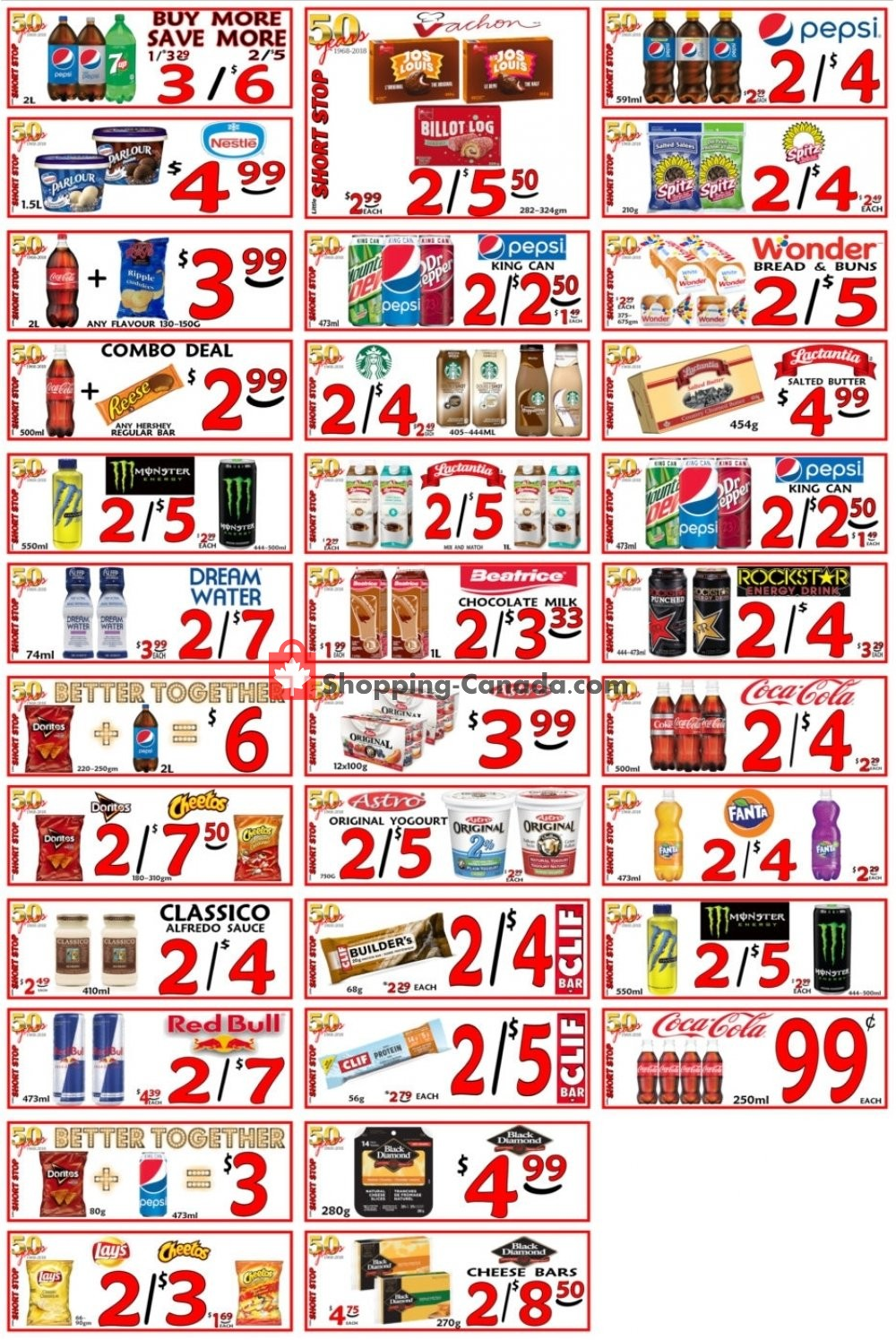 Flyer Little Short Stop Stores Canada - from Monday April 15, 2019 to Sunday April 21, 2019