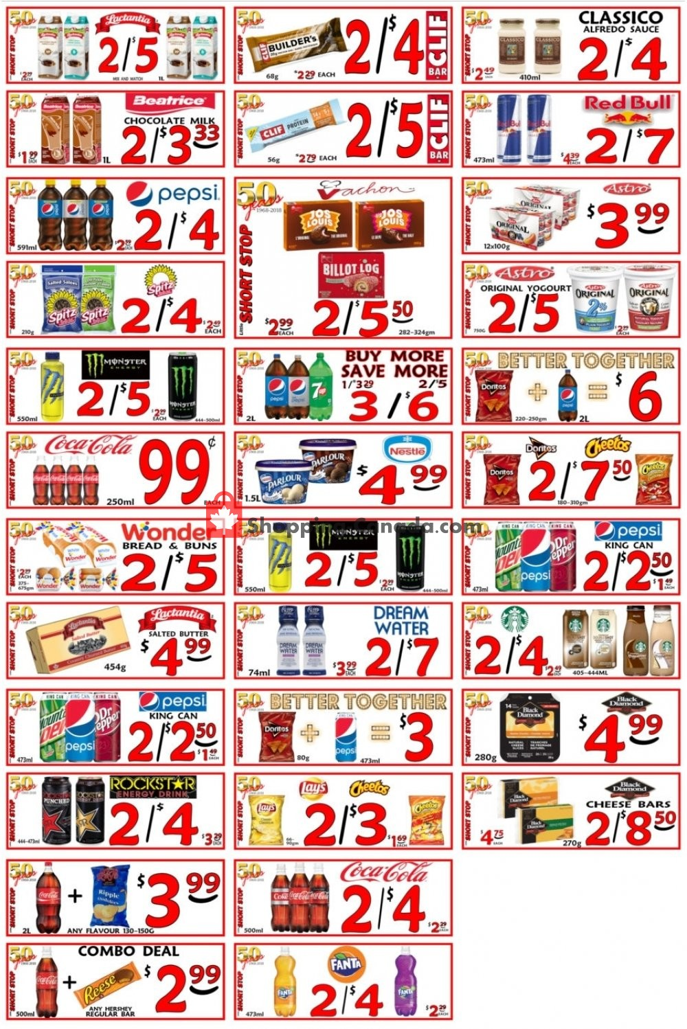 Flyer Little Short Stop Stores Canada - from Tuesday April 16, 2019 to Monday April 22, 2019
