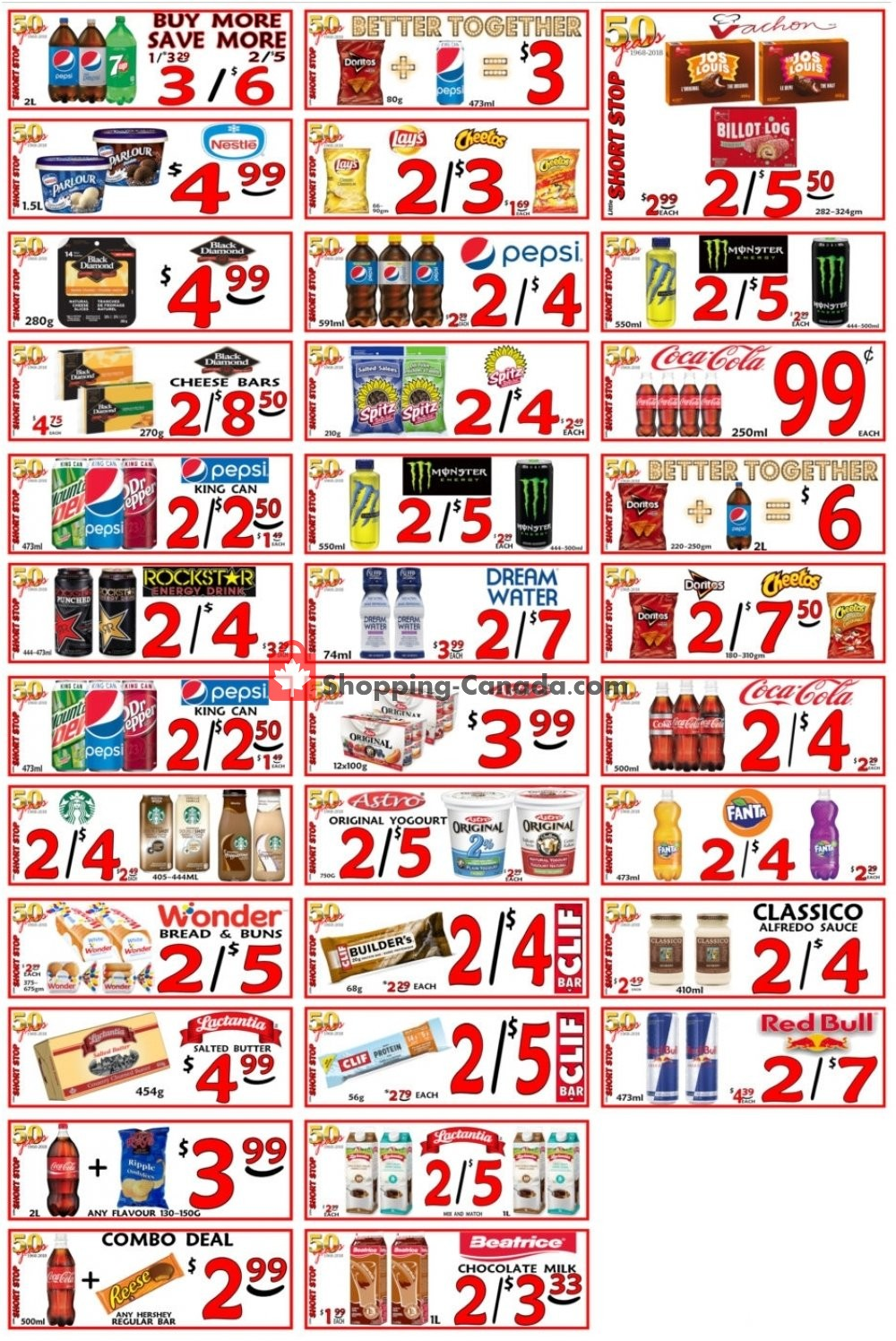 Flyer Little Short Stop Stores Canada - from Wednesday April 17, 2019 to Tuesday April 23, 2019