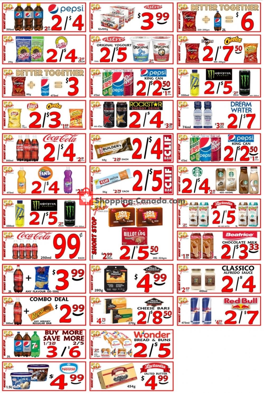 Flyer Little Short Stop Stores Canada - from Friday April 19, 2019 to Thursday April 25, 2019