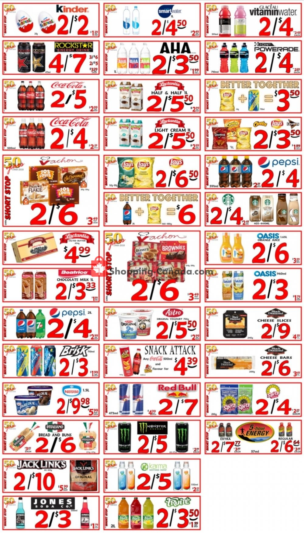 Flyer Little Short Stop Stores Canada - from Sunday April 19, 2020 to Saturday April 25, 2020