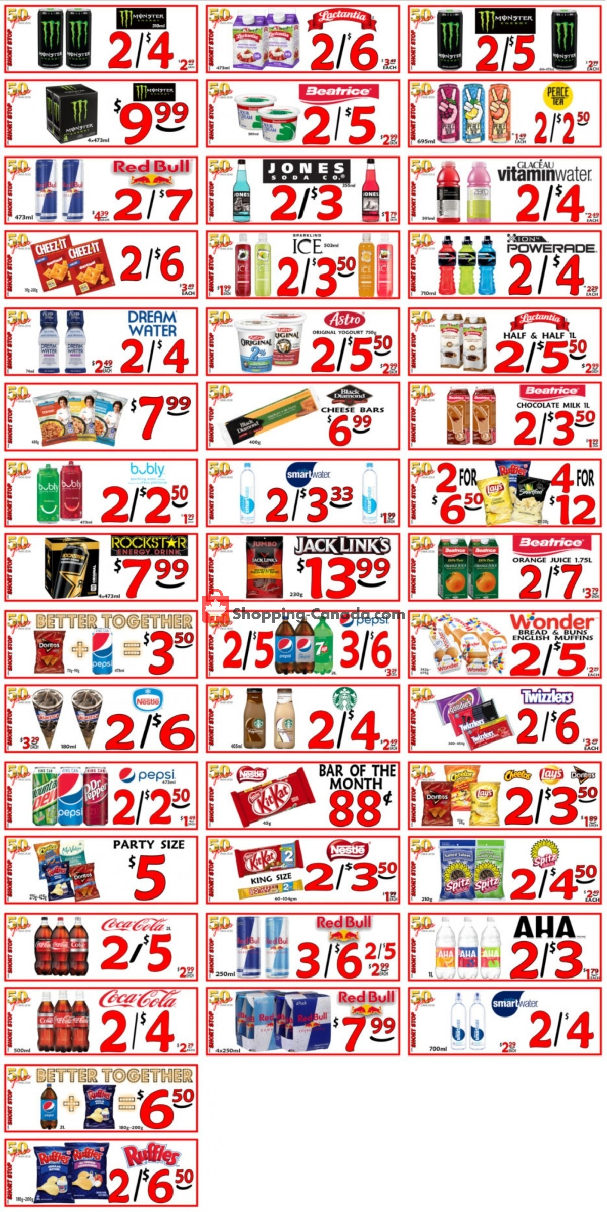 Flyer Little Short Stop Stores Canada - from Friday April 2, 2021 to Thursday April 8, 2021