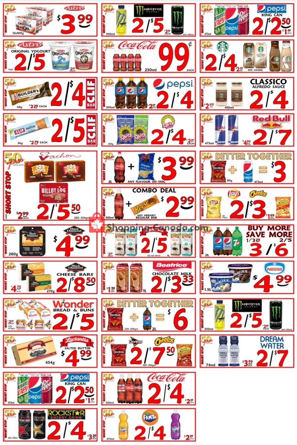 Flyer Little Short Stop Stores Canada - from Sunday April 21, 2019 to Saturday April 27, 2019