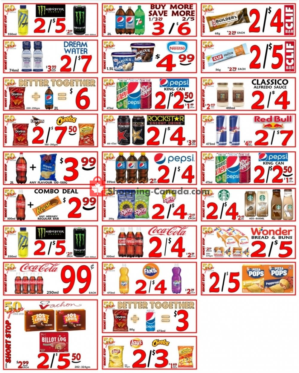Flyer Little Short Stop Stores Canada - from Monday April 22, 2019 to Sunday April 28, 2019