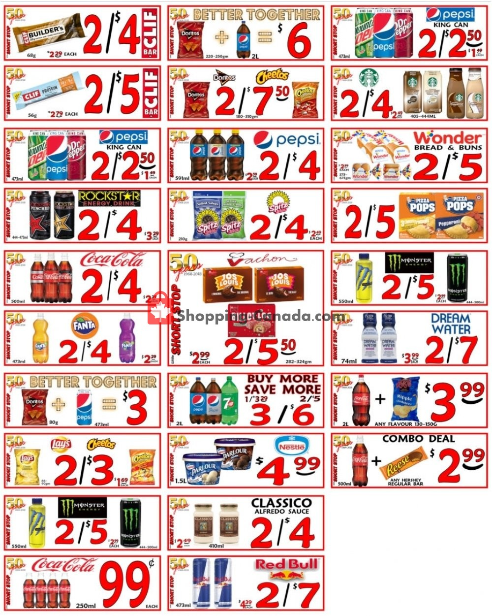 Flyer Little Short Stop Stores Canada - from Tuesday April 23, 2019 to Monday April 29, 2019