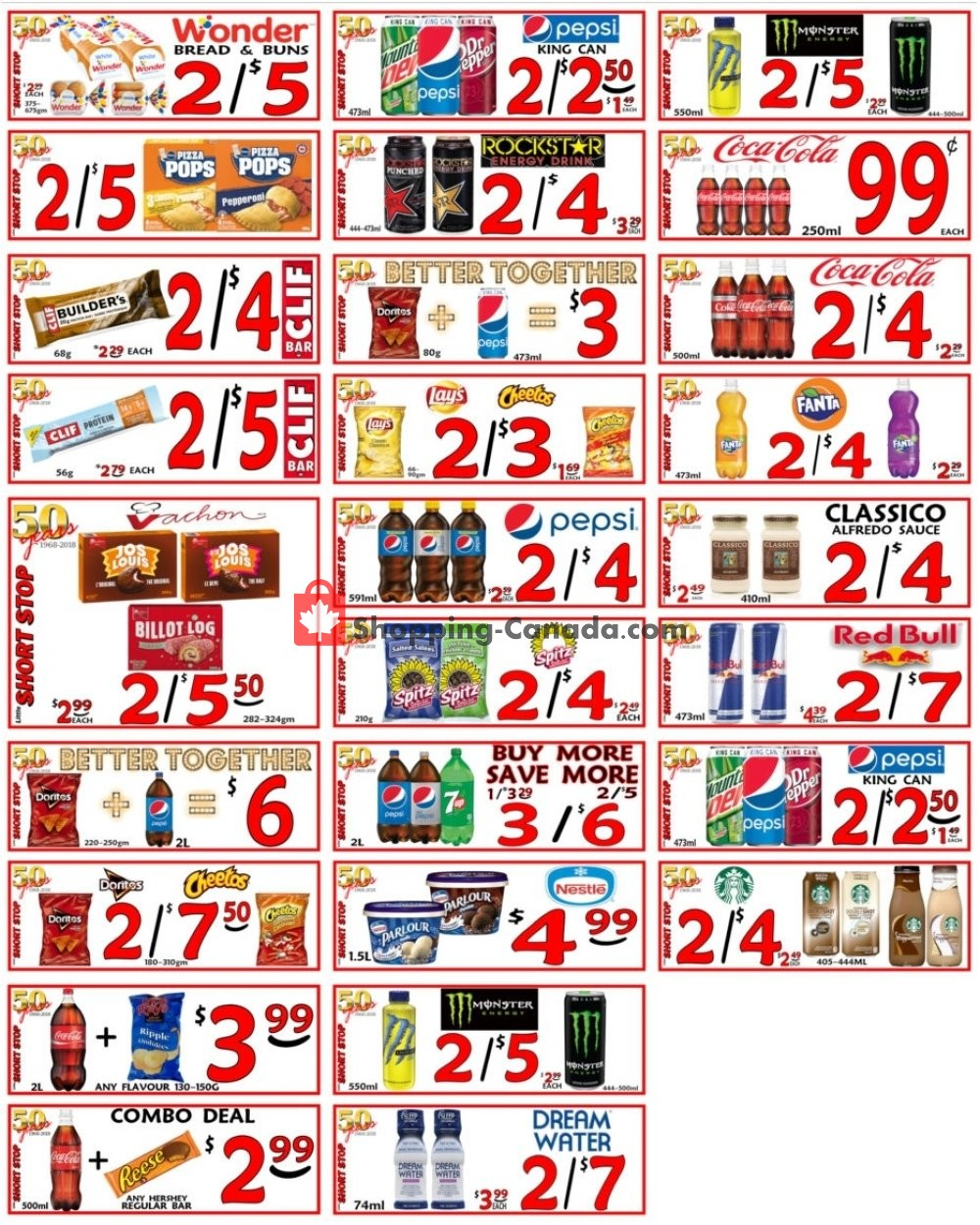 Flyer Little Short Stop Stores Canada - from Wednesday April 24, 2019 to Tuesday April 30, 2019