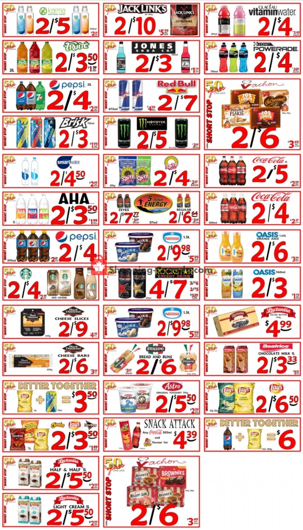 Flyer Little Short Stop Stores Canada - from Friday April 24, 2020 to Thursday April 30, 2020