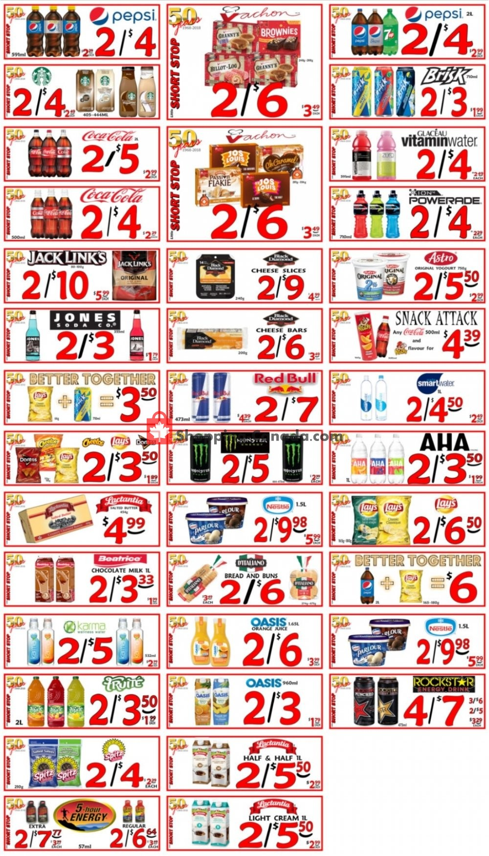 Flyer Little Short Stop Stores Canada - from Saturday April 25, 2020 to Friday May 1, 2020