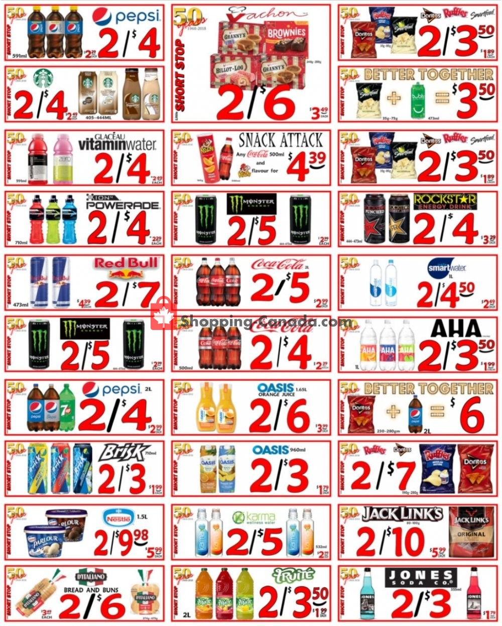Flyer Little Short Stop Stores Canada - from Monday April 27, 2020 to Sunday May 3, 2020