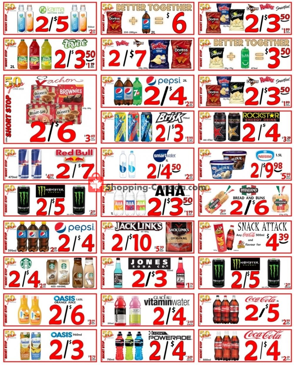 Flyer Little Short Stop Stores Canada - from Wednesday April 29, 2020 to Tuesday May 5, 2020