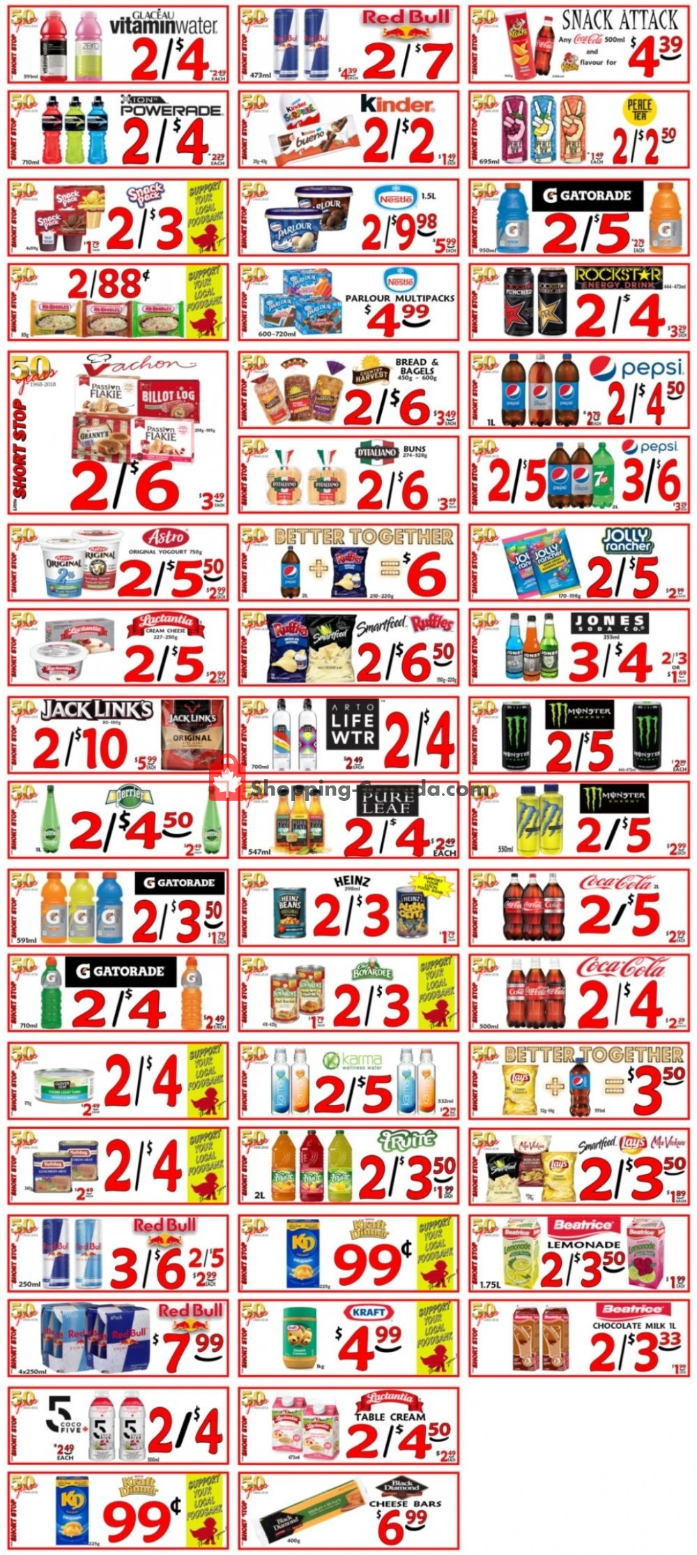 Flyer Little Short Stop Stores Canada - from Monday August 10, 2020 to Sunday August 16, 2020