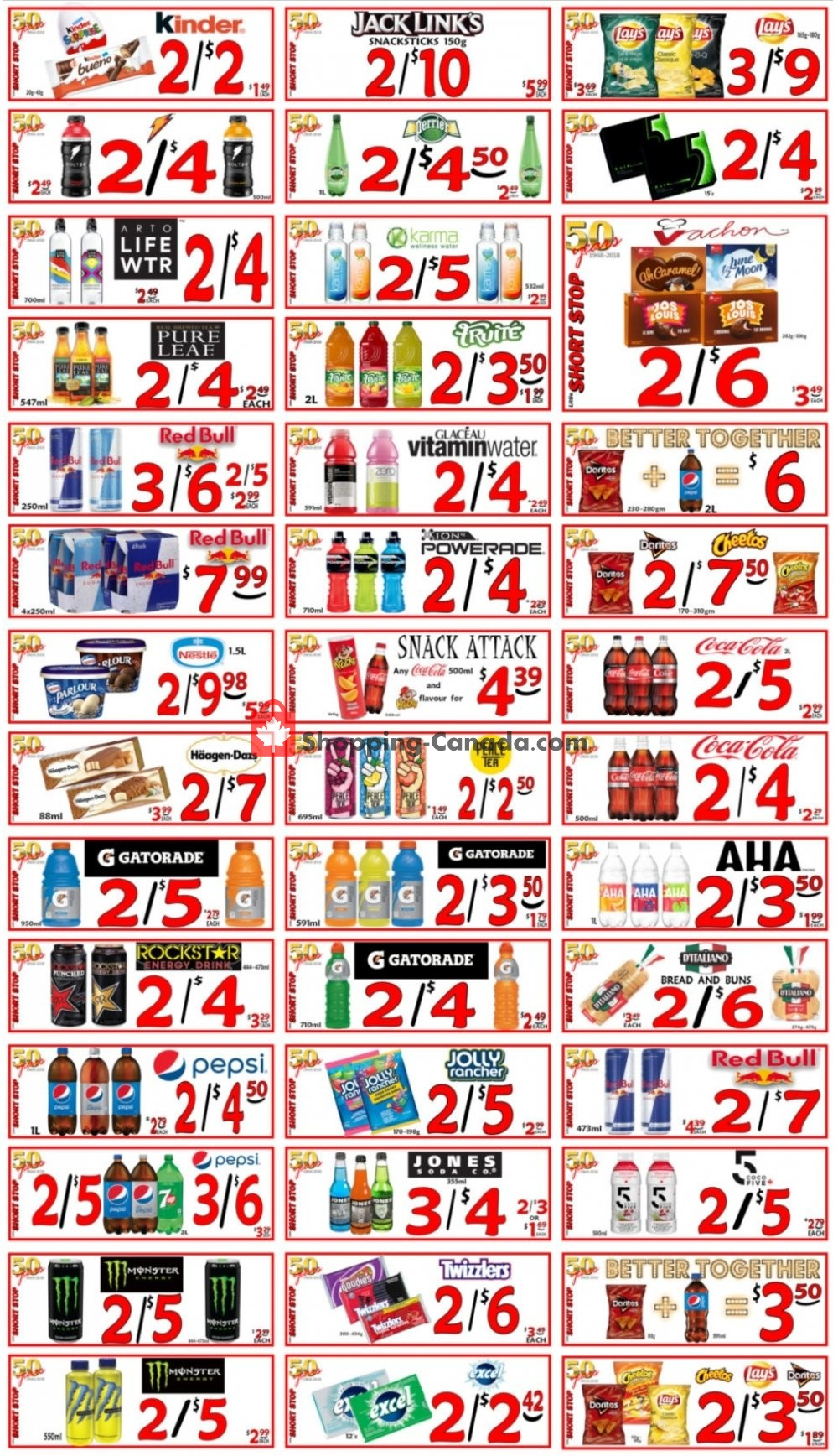 Flyer Little Short Stop Stores Canada - from Sunday August 2, 2020 to Saturday August 8, 2020