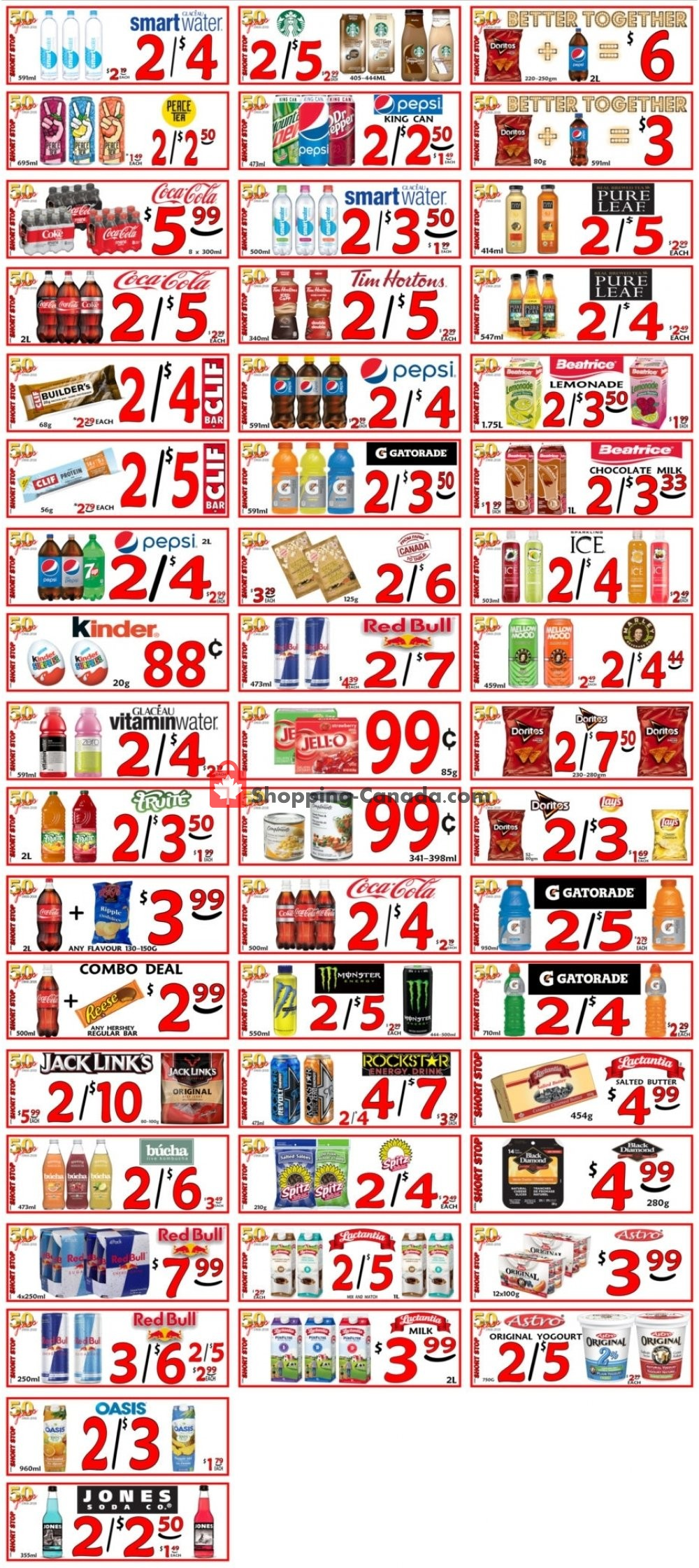 Flyer Little Short Stop Stores Canada - from Saturday August 3, 2019 to Friday August 9, 2019