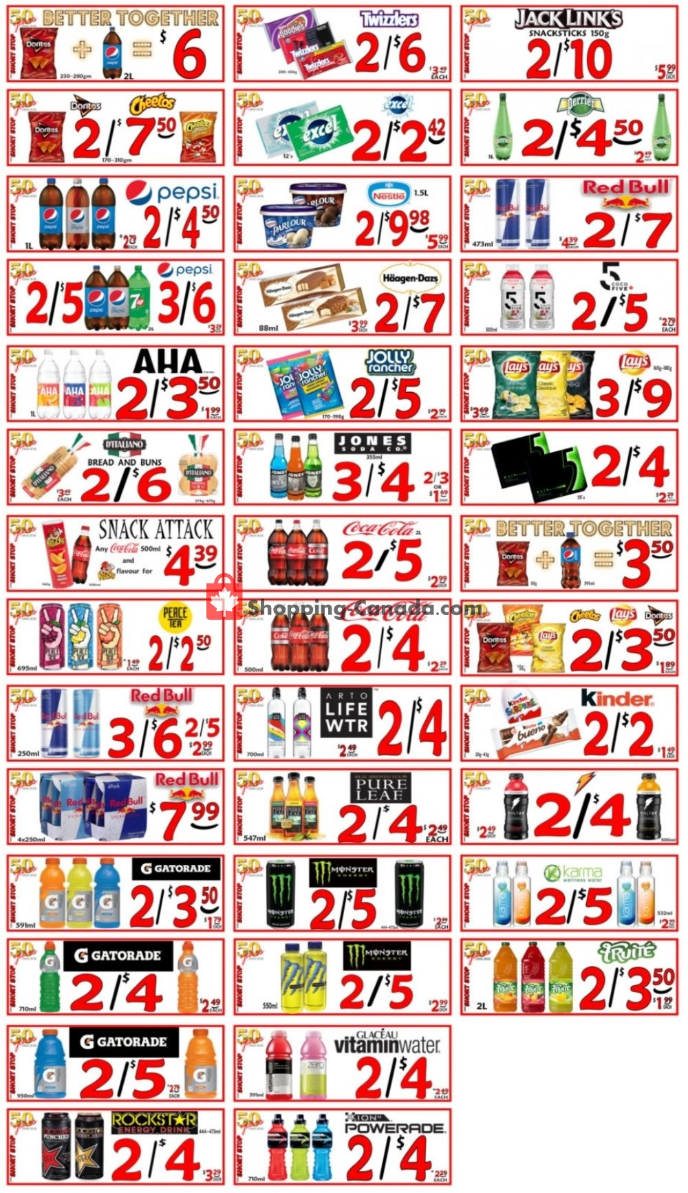 Flyer Little Short Stop Stores Canada - from Tuesday August 4, 2020 to Monday August 10, 2020