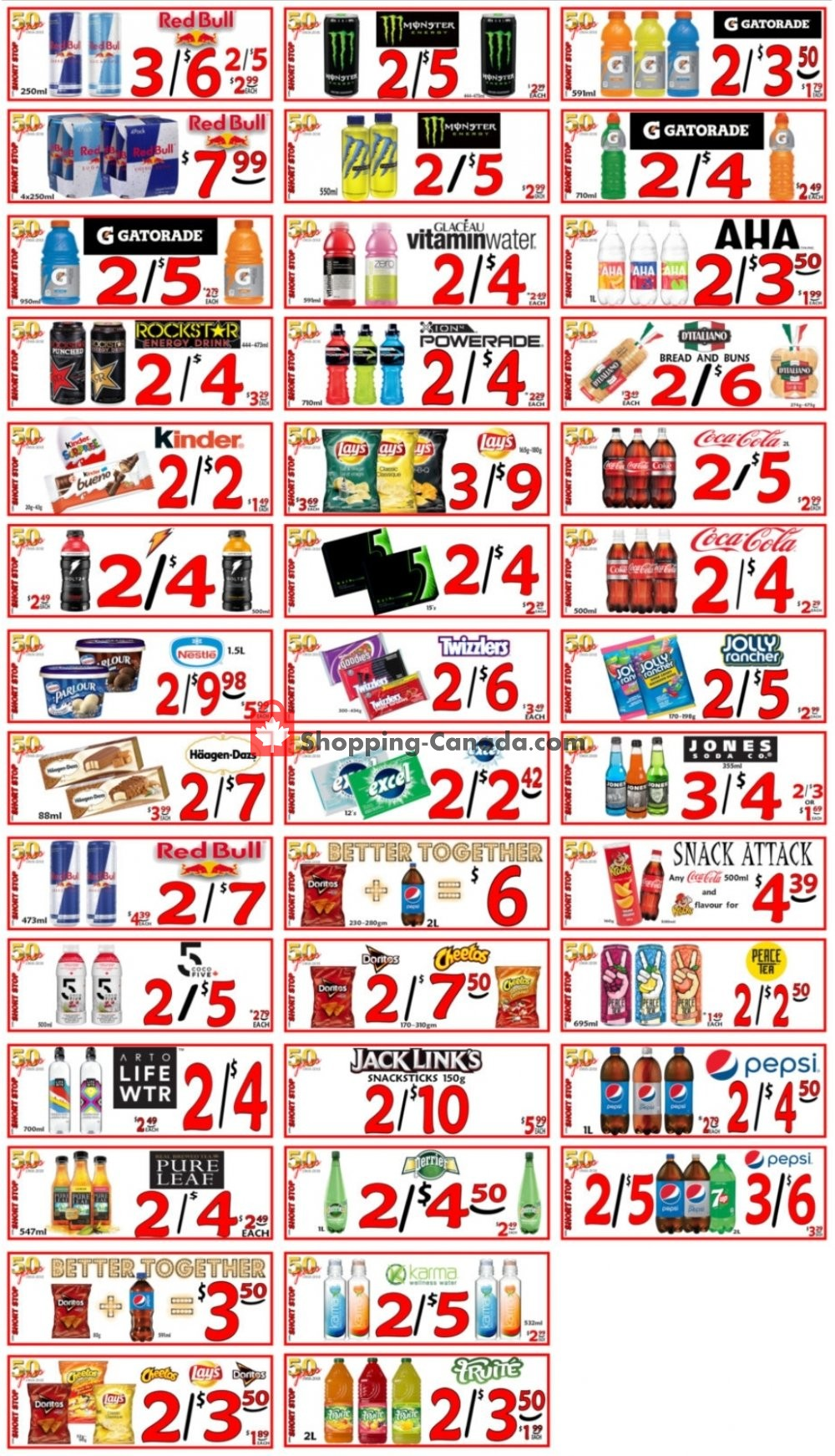 Flyer Little Short Stop Stores Canada - from Wednesday August 5, 2020 to Tuesday August 11, 2020