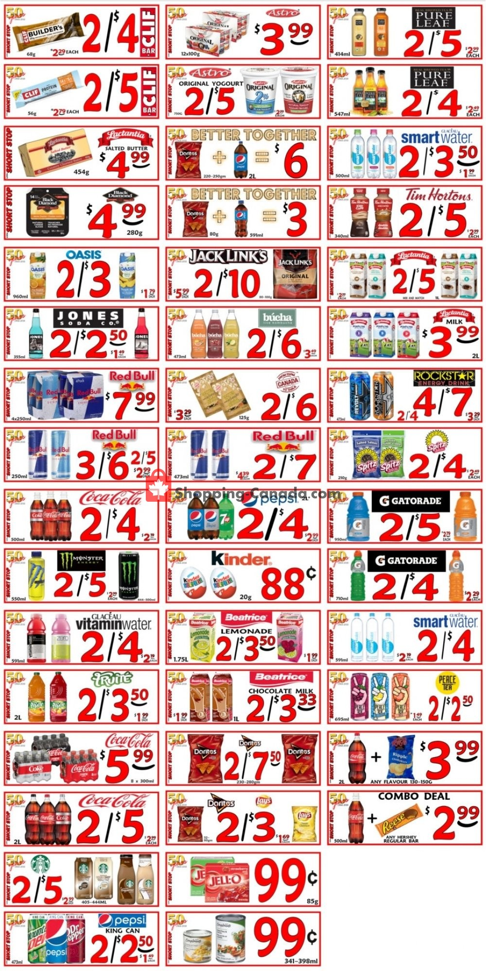 Flyer Little Short Stop Stores Canada - from Tuesday August 6, 2019 to Monday August 12, 2019