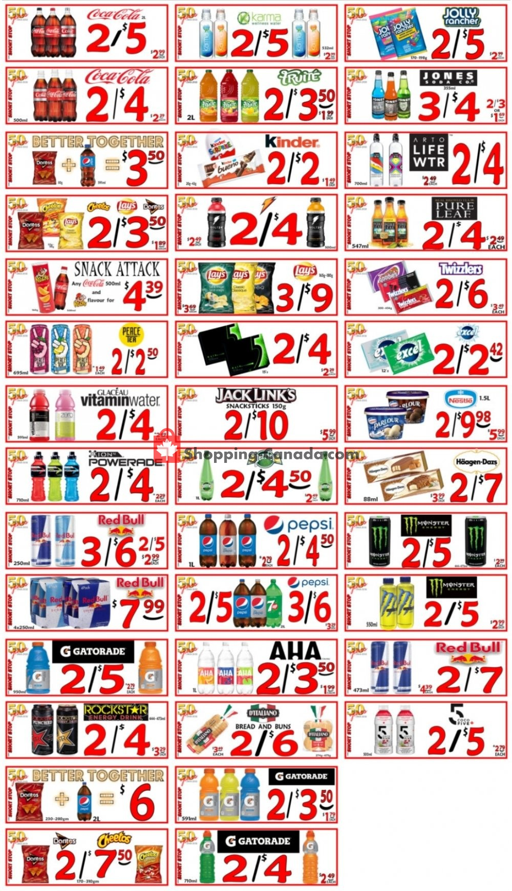 Flyer Little Short Stop Stores Canada - from Friday August 7, 2020 to Thursday August 13, 2020