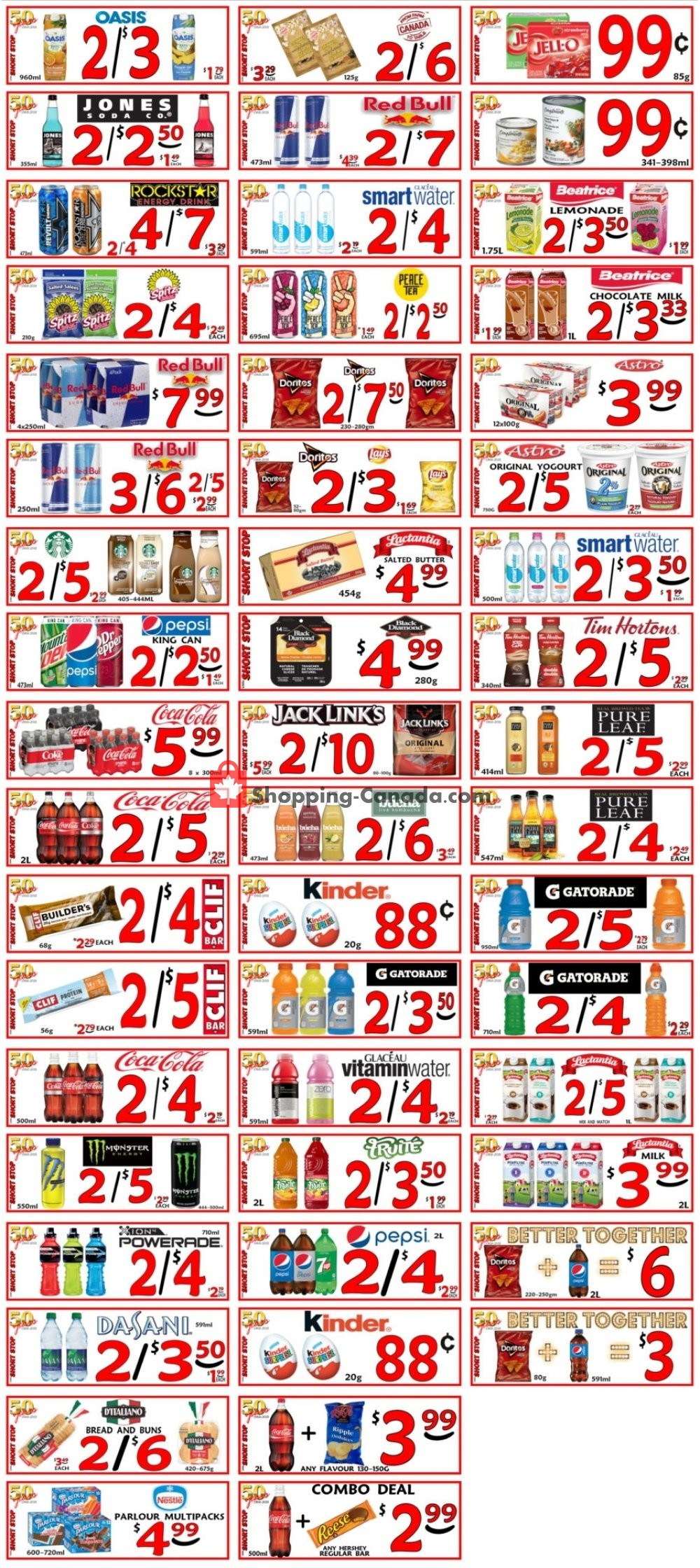 Flyer Little Short Stop Stores Canada - from Thursday August 8, 2019 to Wednesday August 14, 2019