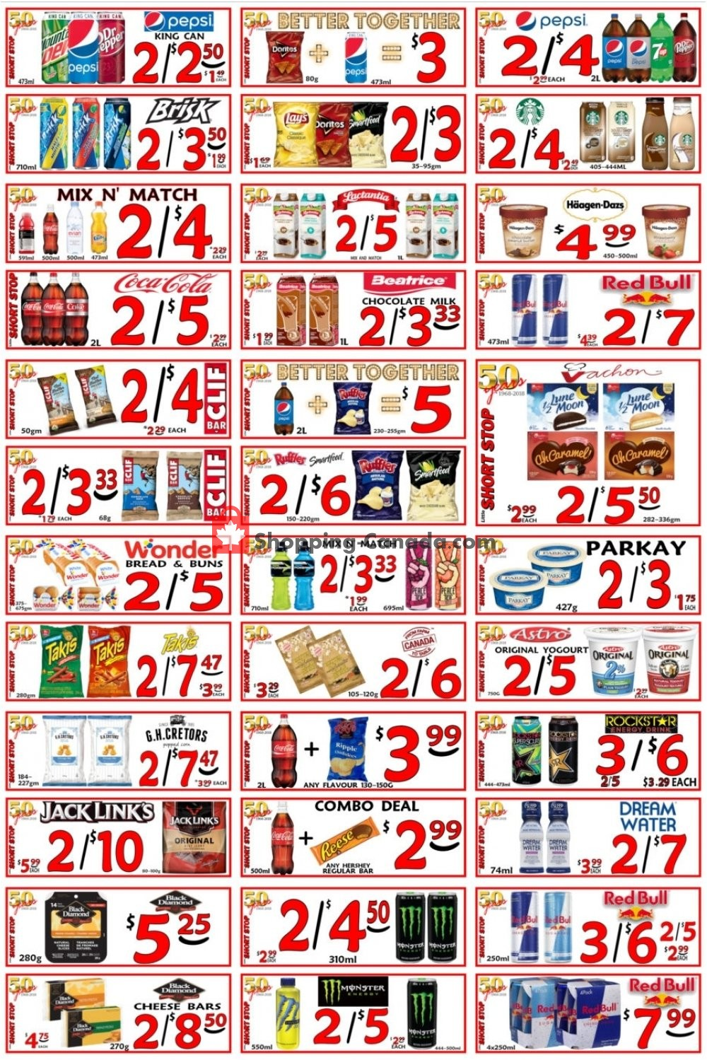 Flyer Little Short Stop Stores Canada - from Friday February 15, 2019 to Thursday February 21, 2019