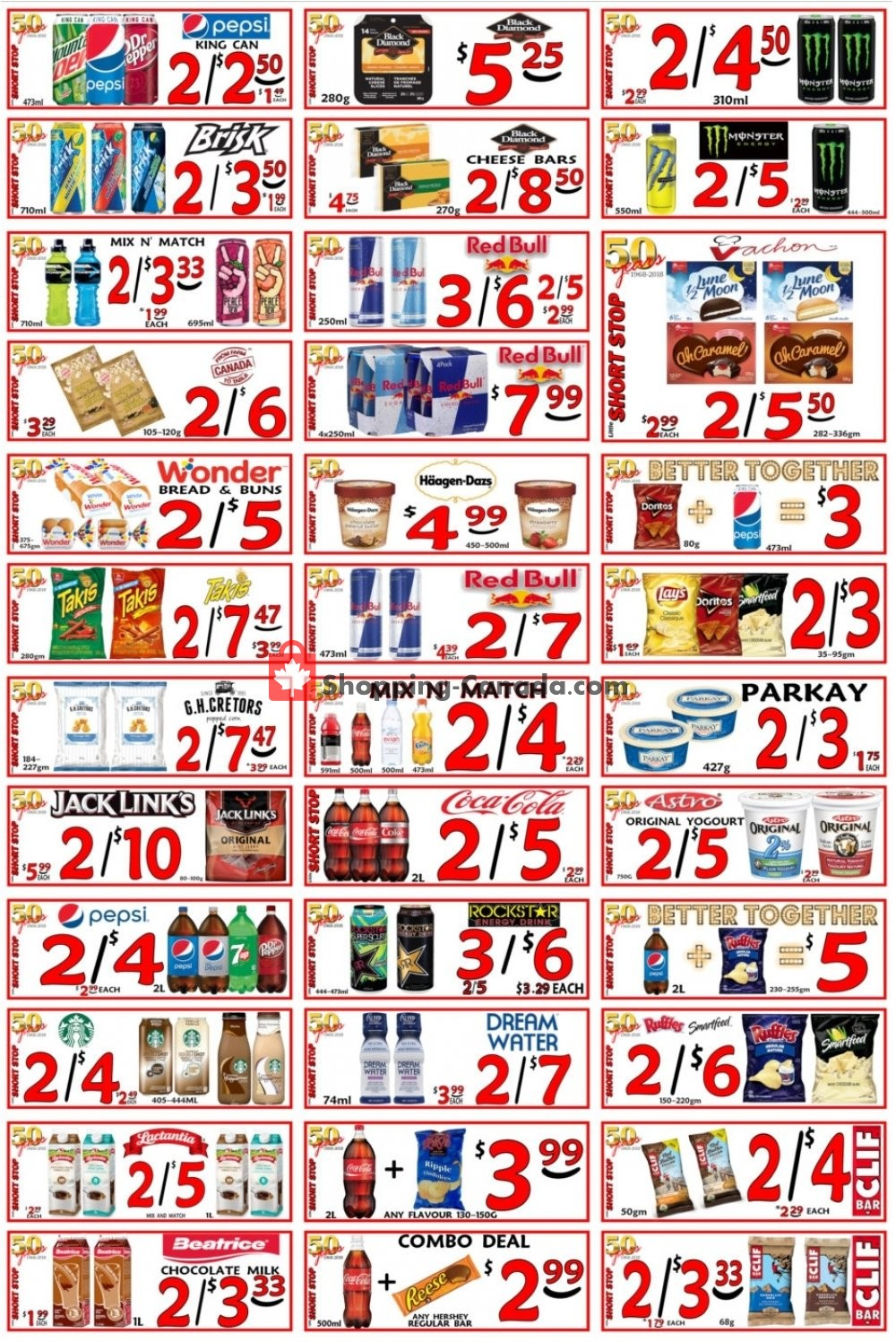 Flyer Little Short Stop Stores Canada - from Saturday February 16, 2019 to Friday February 22, 2019