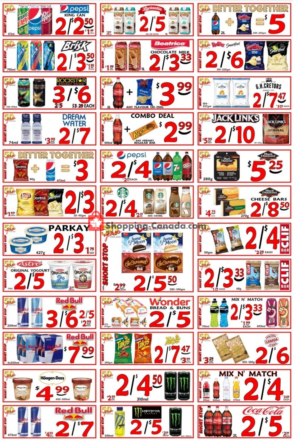Flyer Little Short Stop Stores Canada - from Sunday February 17, 2019 to Saturday February 23, 2019