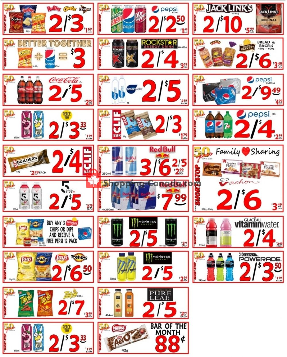 Flyer Little Short Stop Stores Canada - from Sunday February 2, 2020 to Saturday February 8, 2020